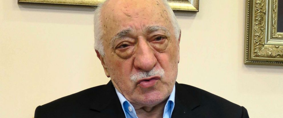 PHOTO: Turkish Preacher Fethullah Gulen speaks during a group interview, July 17, 2016, in Saylorsburg, Pennsylvania.