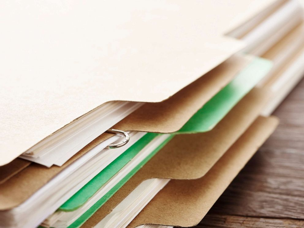PHOTO: A stack of papers is pictured in this undated stock photo.