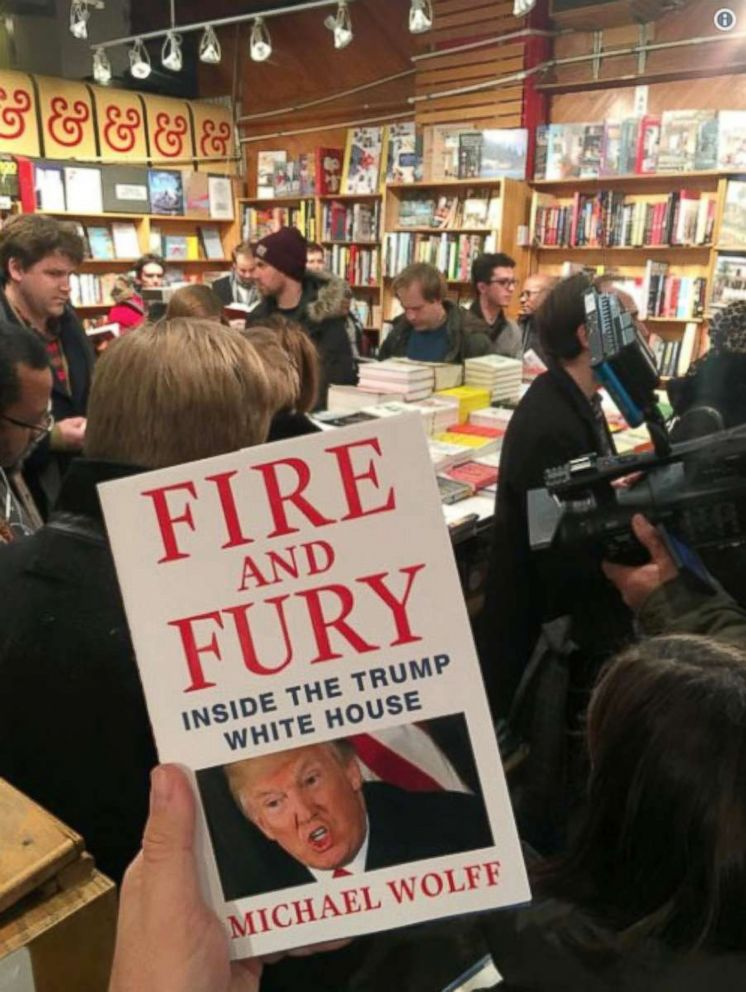 Disputed Trump book a hot midnight item at DC bookstore ...