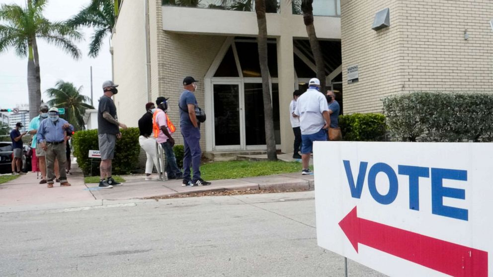 Florida convicted felons allowed to vote for 1st time in presidential election after completing sentences