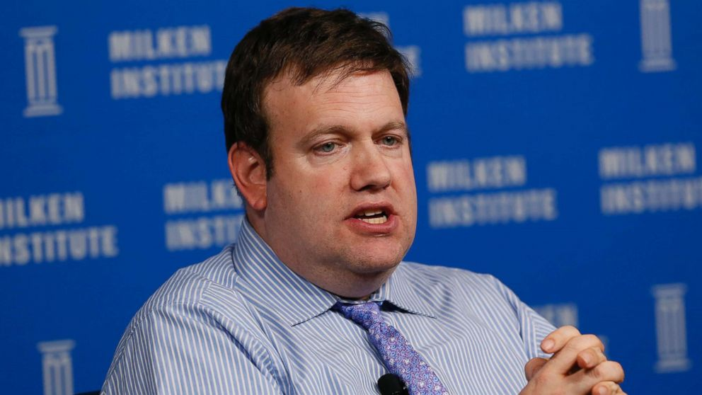 Frank Luntz, chairman and chief executive officer of Luntz Global Partners, speaks at the annual Milken Institute Global Conference in Beverly Hills, Calif., April 29, 2014.