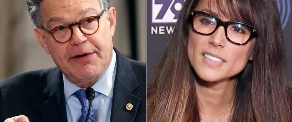 PHOTO: Senate Judiciary Committee member Sen. Al Franken, D-Minn., on Capitol Hill in Washington, Jan. 10, 2017 | Los Angeles radio anchor Leeann Tweeden discusses her allegations of sexual harassment by Al Franken, in Glendale, Calif., Nov. 16, 2017.