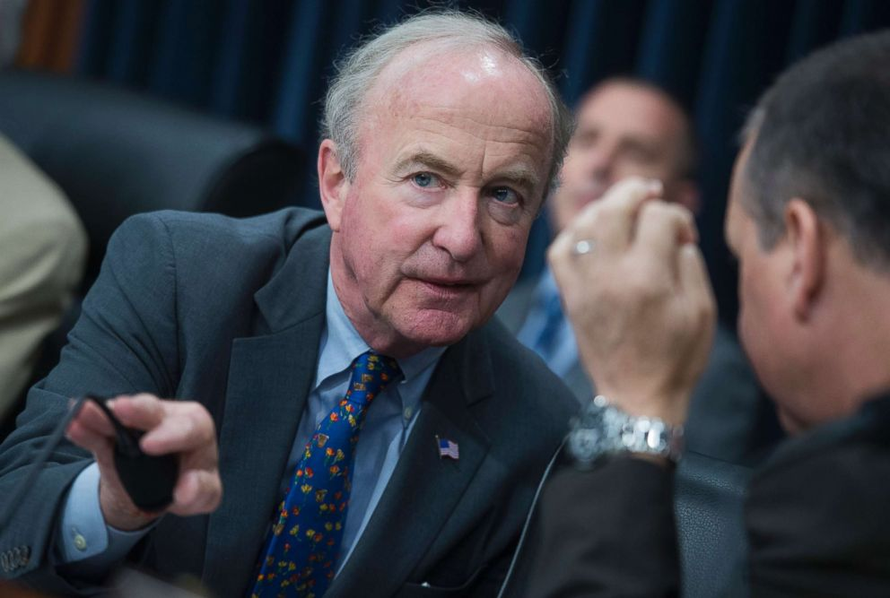 PHOTO: House Appropriations Chairman Rodney Frelinghuysen, R-N.J., at a House Appropriations State, Foreign Operations and Related Programs Subcommittee hearing on the United Nations and International Organizations FY2018 Budget, June 27, 2017.
