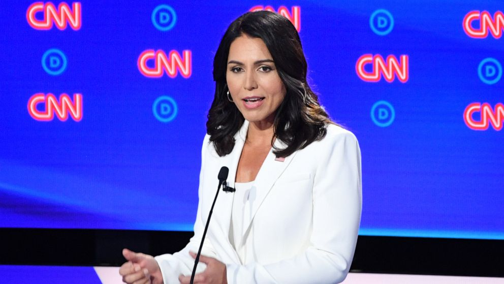Tulsi Gabbard's campaign wants the DNC to change debate qualifying poll requirements thumbnail