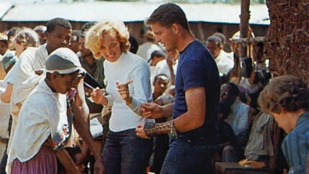 Patti and John Garamendi in Ethiopia with the Peace Corps in the early 1960's.