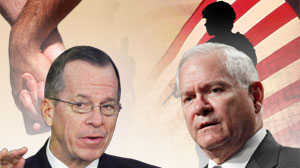 Defense Secretary Roberts Gates and Adm. Mike Mullen, chairman of the Joint Chiefs of Staff, will appear before a Senate committee today to testify about lifting the military?s 16-year-old ban on gays openly serving in the armed forces, the first time sen