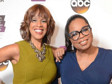 PHOTO: Gayle King and Oprah Winfrey at the opening of the Smithsonians new National Museum of African American History and Culture, taped at the Kennedy Center in Washington, Sept. 23, 2016.