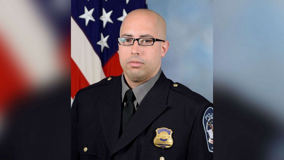 Pentagon identifies police officer killed in attack