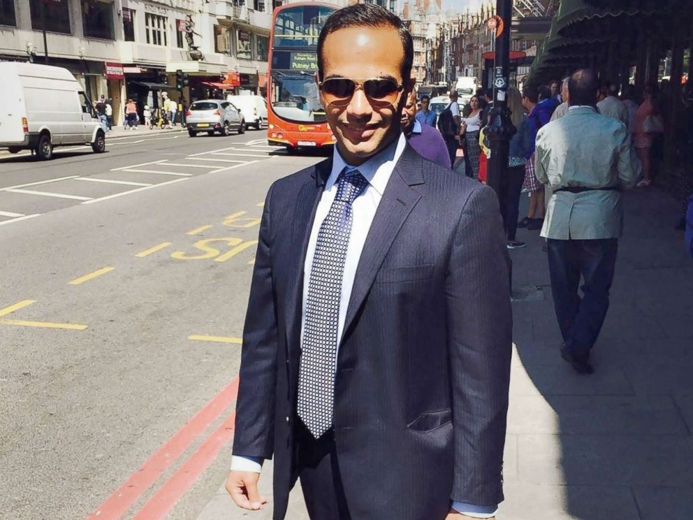 George Papadopoulos posing on a street of London which was posted to his Linked In profile. Former Trump campaign aide George Papadopoulos pleaded guilty to lying to the FBI about his Kremlin-related contacts