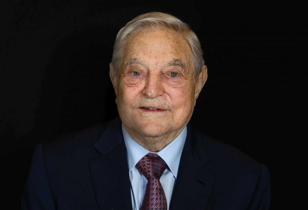 George Soros, founder and chair of Soros Fund Management and the Open Society Foundation, poses for a portait during the 2016 Concordia Summit at the Grand Hyatt New York, Sept. 19, 2016, in New York City.