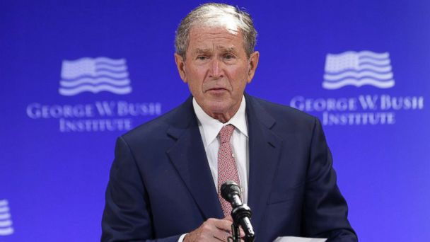 ANALYSIS: George W. Bush takes on Trump without even mentioning him by name