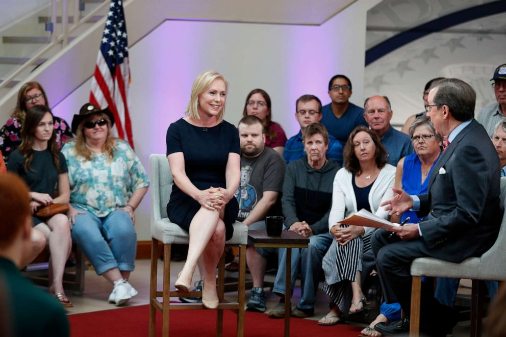 On Fox News town hall, Gillibrand attacks network over abortion coverage