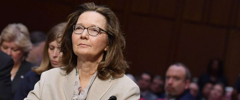 PHOTO: Gina Haspel arrives to testify before the Senate Intelligence Committee on her nomination to be the next CIA director in the Hart Senate Office Building on Capitol Hill in Washington, D.C., May 9, 2018.