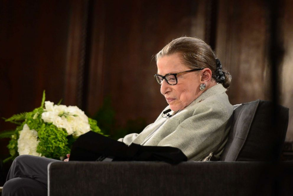 Ruth Bader Ginsburg Undergoes Lung Cancer Growth Removal
