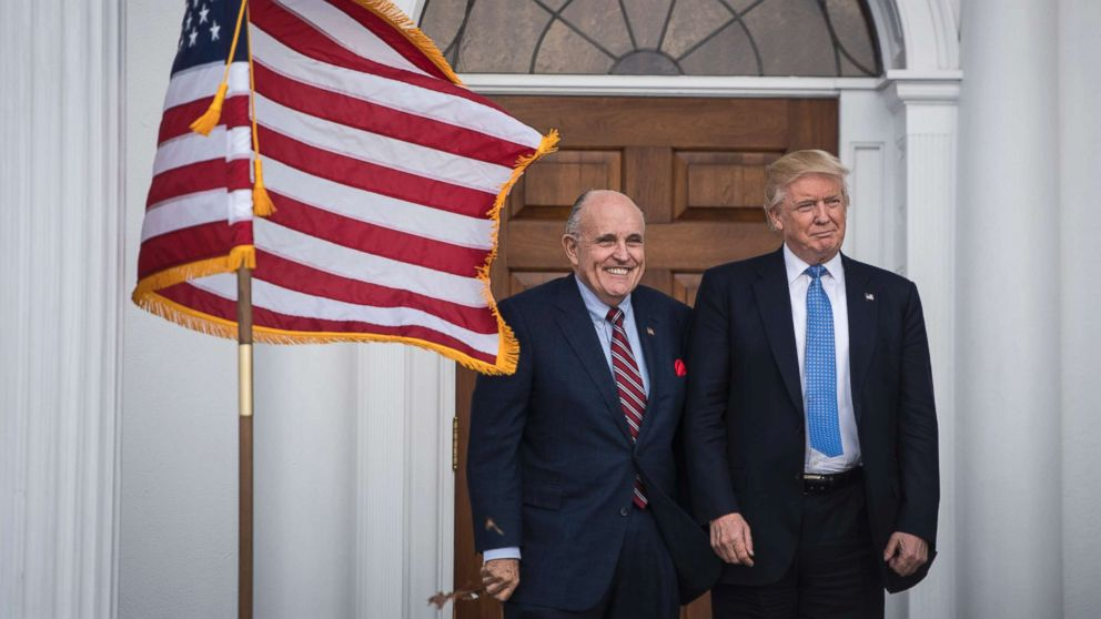 Rudy Giuliani says investigations surrounding President Donald Trump are 'done;' all that's left are 'parking tickets and jaywalking'