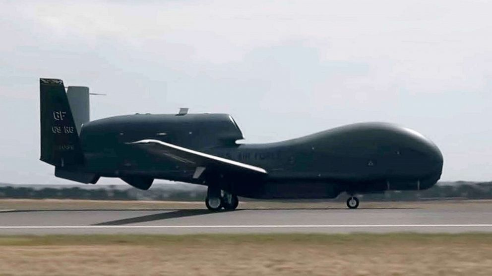 PHOTO: A U.S. Air Force RQ-4 Global Hawk assigned to the 36th Wing from Andersen Air Force Base, Guam, lands at the Avalon International Airport in Geelong, Victoria, Australia, March 1, 2019.