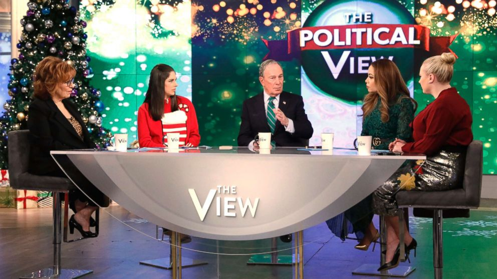 """Michael Bloomberg appears on ABC's """"The View,"""" Dec. 12, 10."""