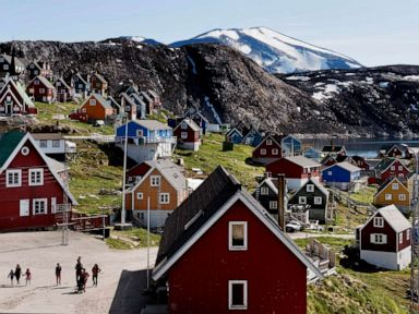 Greenland responds to reports Trump talked about buying the territory