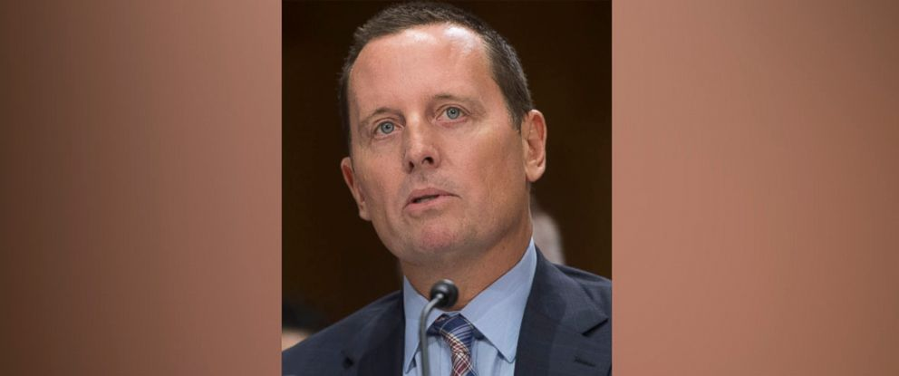 PHOTO: Richard Grenell, then nominee to be US ambassador to Germany, testifies during a Senate Foreign Relations Committee hearing on Capitol Hill, Sept. 27, 2017.