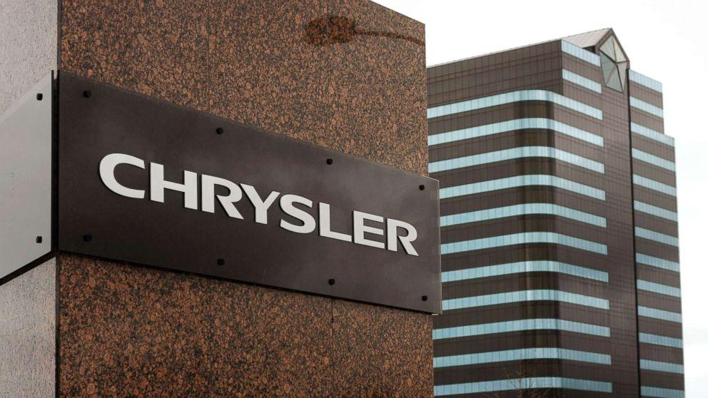 The Chrysler world headquarters in Auburn Hills, Mich.
