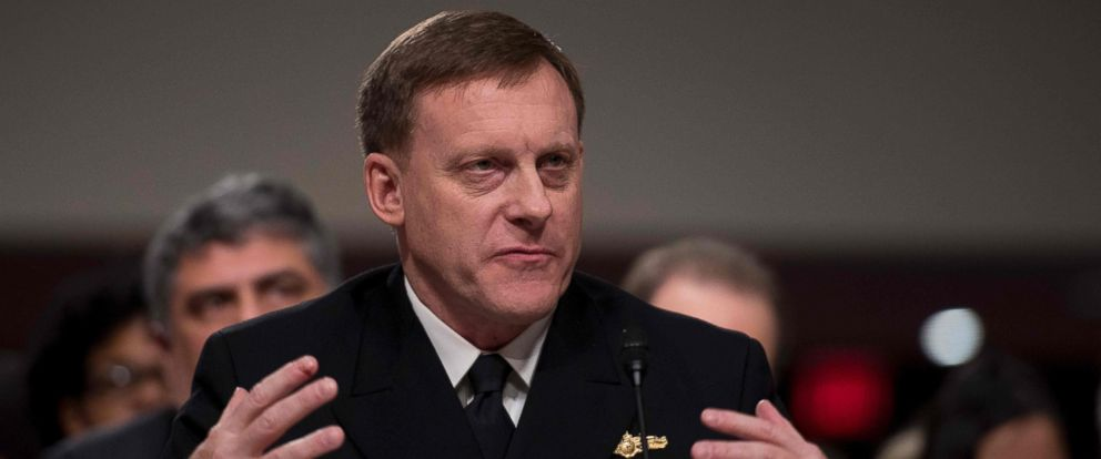 PHOTO: National Security Agency Director Adm. Michael Rogers testifies before the Senate Armed Services Committee on Capitol Hill in Washington, Jan. 5, 2017.