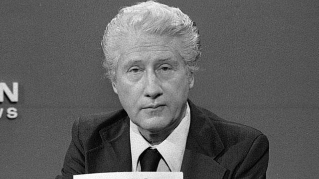 PHOTO: Former Associate Director of the FBI W. Mark Felt appears as a guest on the CBS news program, 'Face the Nation,' Aug. 29. 1976.