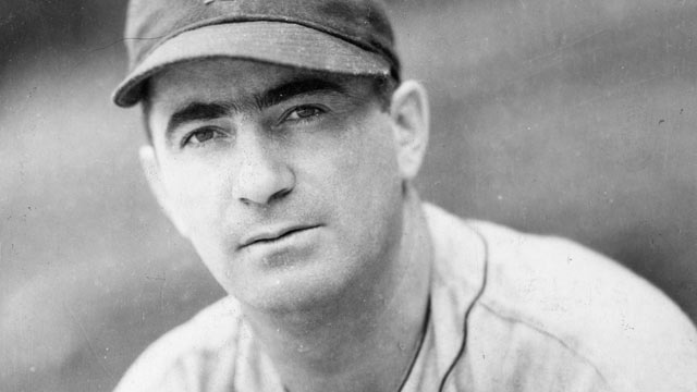 PHOTO: Moe Berg, catcher for the Boston Red Sox, poses for a portrait in Fenway Park in Boston in 1936.