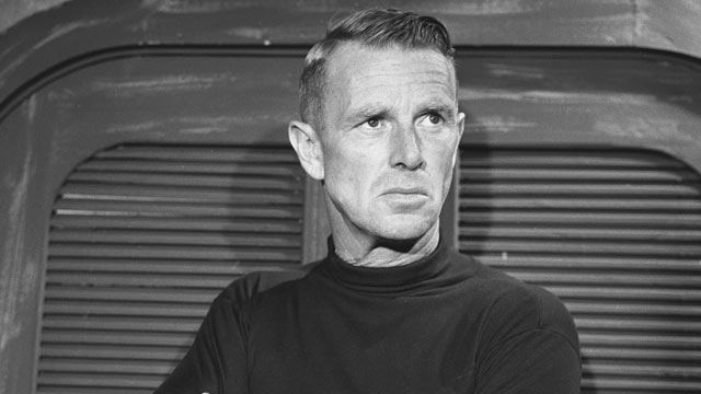 """PHOTO: Sterling Hayden in """"A Sound of Different Drummers"""", Sept. 18, 1957."""