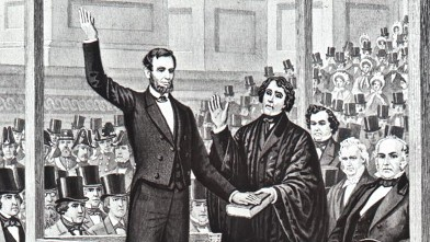 PHOTO: Abraham Lincoln's 1861 inauguration