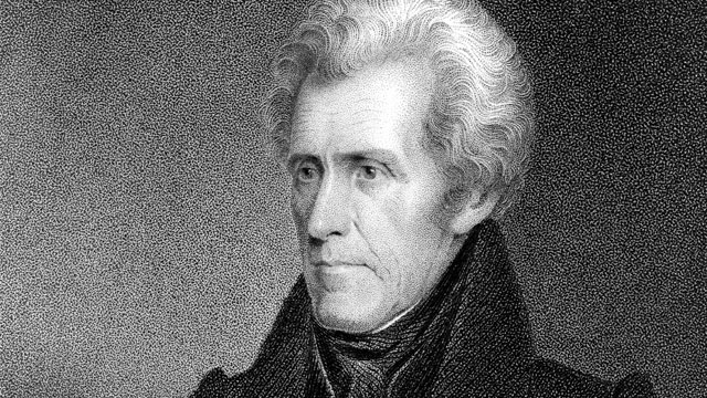 PHOTO: Andrew Jackson (1767-1845), seventh President of the United States, who served for two terms from 1829 to 1837, is seen in this undated portrait.