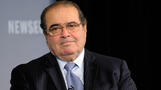 PHOTO: Supreme Court Justice Antonin Scalia speaks at the 2011 Washington Ideas Forum at The Newseum on October 6, 2011 in Washington, DC.