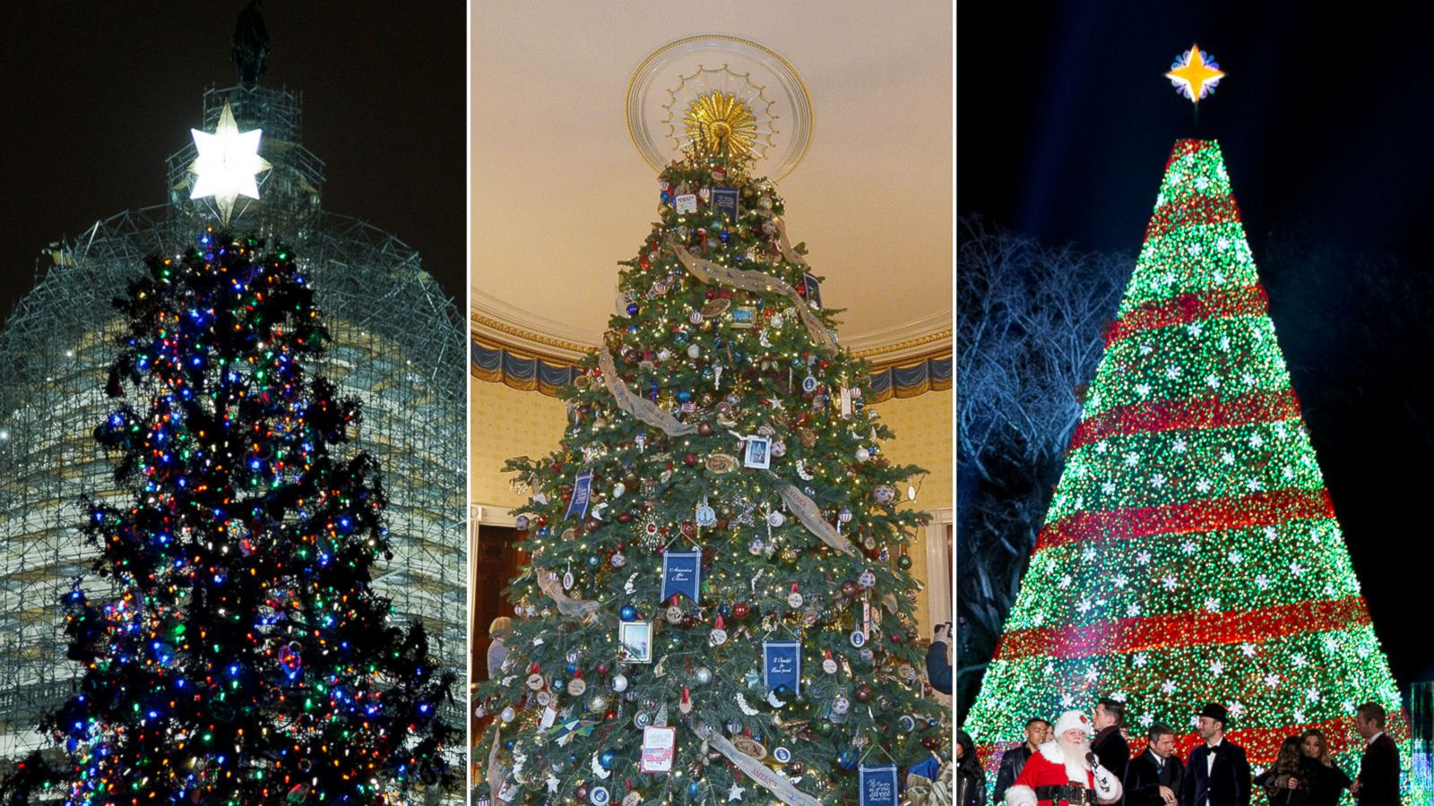 Washington\'s Christmas Tree Showdown: White House vs. Congress - ABC ...