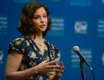 PHOTO: Ashley Judd speaks at the Progress And Perspectives: Womens Reproductive Health A Conversation With Ashley Judd at George Washington University on March 1, 2013 in Washington, DC.