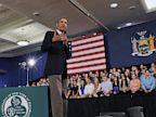 PHOTO: President Obama at Binghamton University town hall
