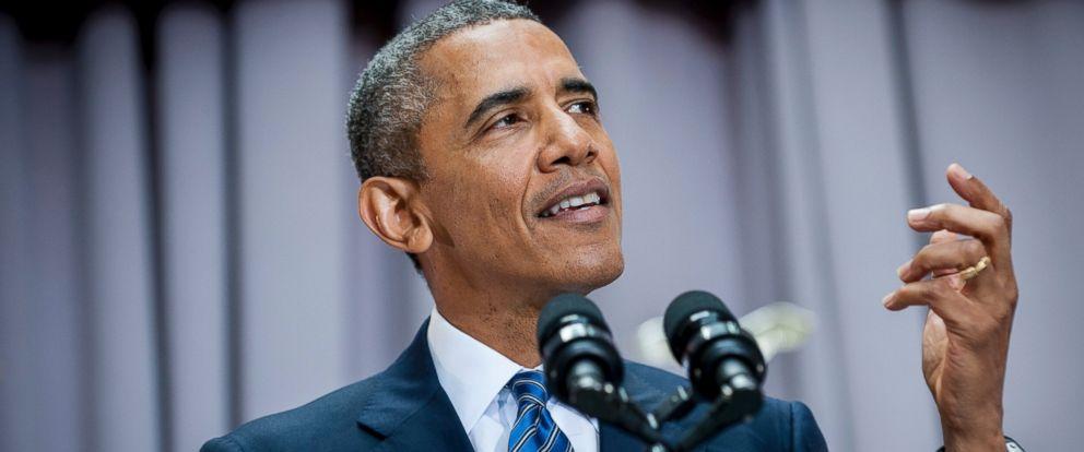 PHOTO: President Barack Obama addresses American Universitys School of International Service in Washington on Wednesday, Aug. 5, 2015.