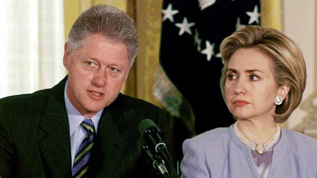 PHOTO: Bill and Hillary Clinton