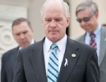 PHOTO: Rep. William Keating, walks down the House steps following a series of votes in this March 28, 2012 file photo.