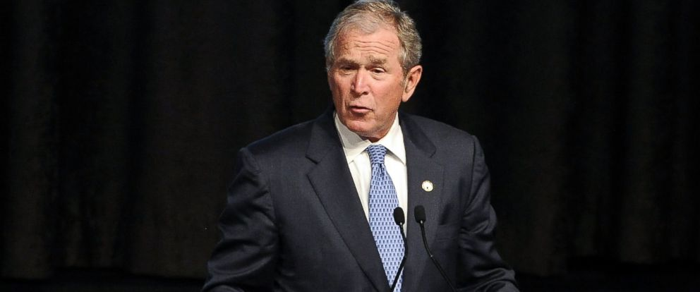 PHOTO: Former President George W. Bush attends the 2015 Father Of The Year Luncheon Awards on June 18, 2015 in New York.