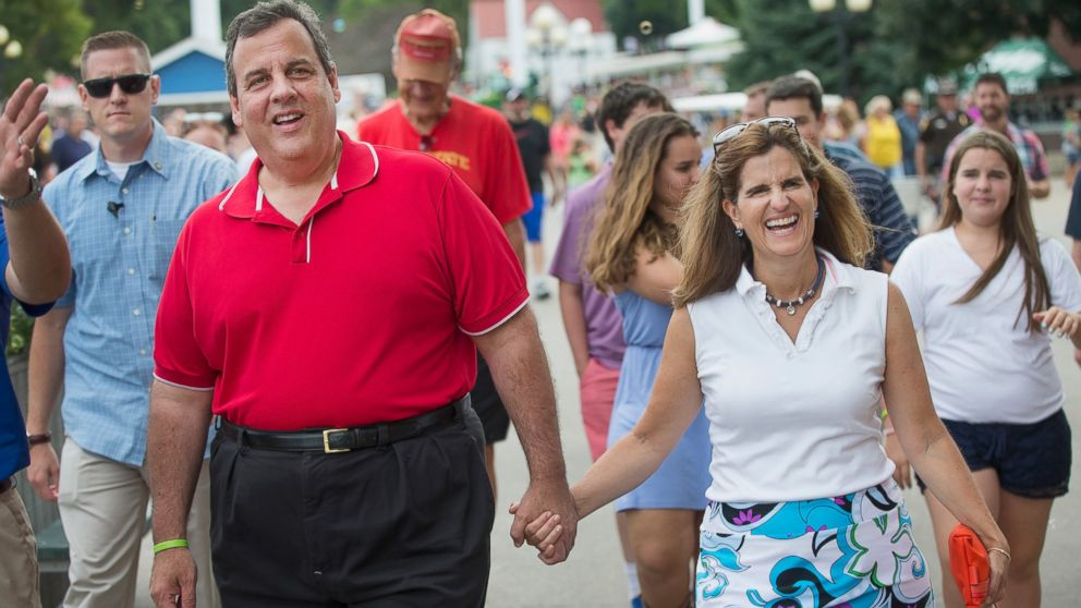 Chris Christie with Wife Mary Pat Foster