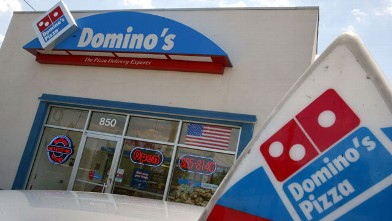 PHOTO: A Domino's Pizza store April 14, 2004 in Miami, Florida.