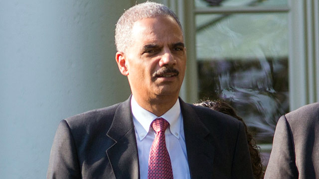 PHOTO: Attorney General Eric Holder attends an annual picnic held for members of Congress on the South Lawn of the White House on June 27, 2012 in Washington, D.D. The annual picnic was held for members of Congress.