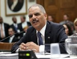 PHOTO: U.S. Attorney General Eric Holder testifies during a hearing before the House Judiciary Committee on oversight of the U.S. Department of Justice May 15, 2013 on Capitol Hill in Washington, D.C.