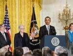 PHOTO: Ernest Moniz, Gina McCarthy, Barack Obama and Sylvia Mathews Burwell