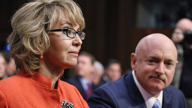 PHOTO: Gabrielle Giffords and Mark Kelly
