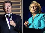 PHOTO: Rand Paul and Hillary Clinton