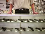PHOTO: A majority of Americans favor such gun control measures as banning assault weapons and expanding background checks on those who buy guns and ammunition, with support for banning high-capacity ammunition magazines at a new high in ABC News/Washingto