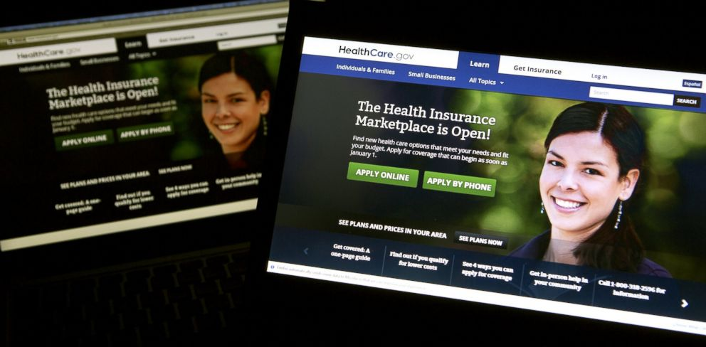 PHOTO: The Healthcare.gov website is displayed in Washington, in this Oct. 24, 2013 photo.