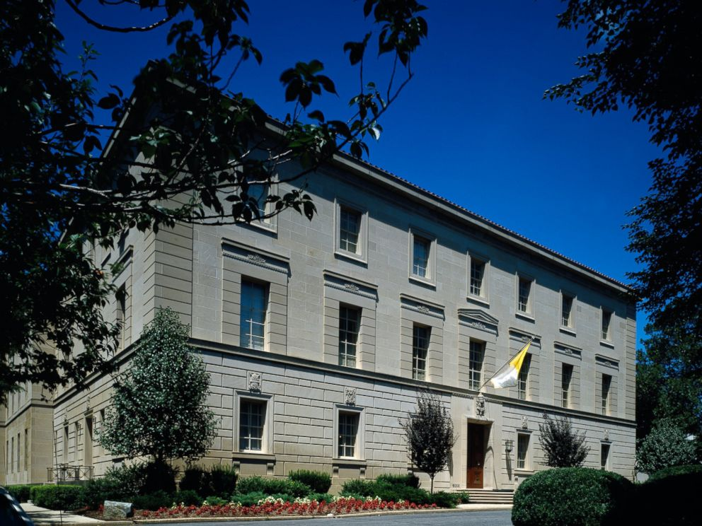 PHOTO: The Apostolic Nunciature of the Holy See, or Vatican Embassy in Washington.