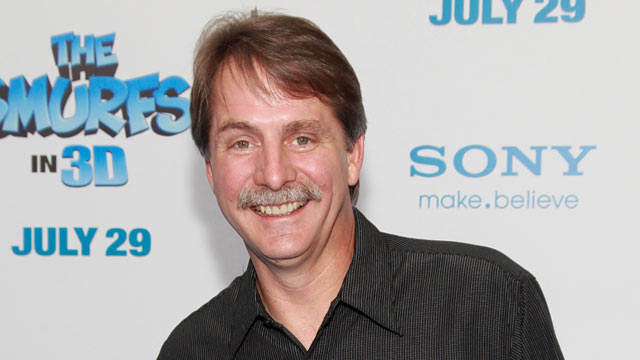 """PHOTO: Comedian Jeff Foxworthy attends the premiere of """"The Smurfs"""" at the Ziegfeld Theater, July 24, 2011 in New York City."""