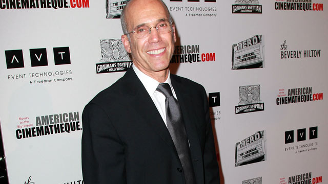 PHOTO: Producer Jeffrey Katzenberg arrives at The 25th American Cinematheque Award Honoring Robert Downey Jr. held at The Beverly Hilton hotel, Beverly Hills, California Oct. 14, 2011.